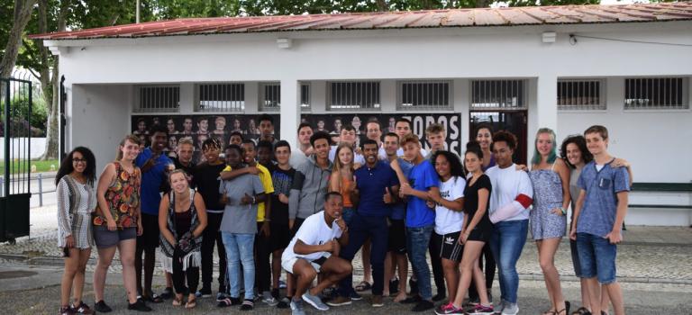 """Jugendbegegnung in Lissabon mit """"Wir weit weg"""""""